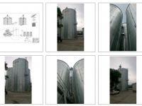 Силозно стопанство за зърно с обем 4500 куб.м